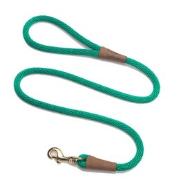 "Mendota Products Snap Leash 1/2"" X 6' - Kelly Green"