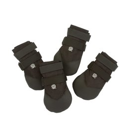 "Ultra Paws Ultra Paws Rugged Dog Boot - Black - Medium 2 3/4"" Width"