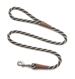 "Mendota Products Snap Leash 1/2"" x 6' - Twist - Woodlands"