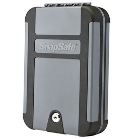 Snap Safe SnapSafe 75212 TrekLite Lock Box Extra Large Personal Safe Key Polycarbonate Black/Gray