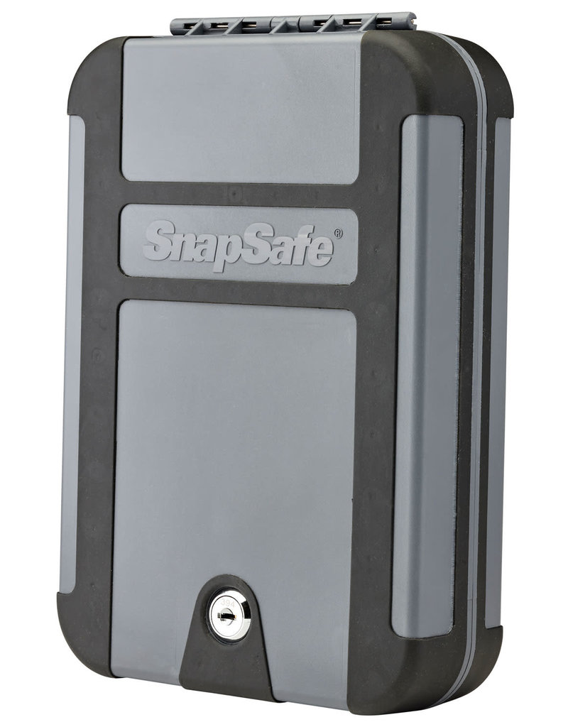 Snap Safe SnapSafe 75212 TrekLite Lock Box Extra Large Personal Safe Key Polycarbonate Black/Gray
