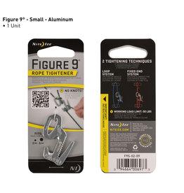 Nite Ize Figure 9® Rope Tightener - Small - Silver
