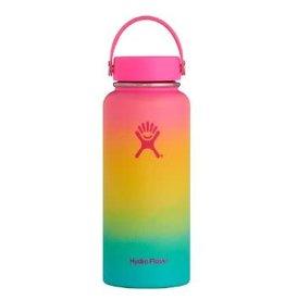 Hydro Flask 32oz Wide W.Flex Cap Hawaiian Rainbow