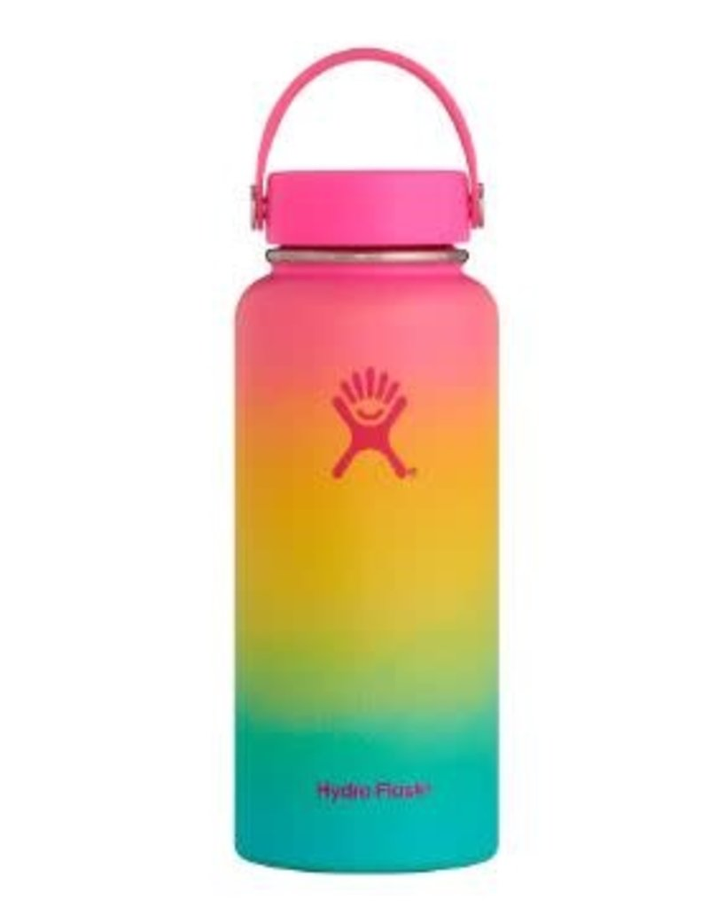 Hydro Flask 32oz Wide W.Flex Cap Hawaiian Rainbow