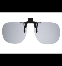 Fisherman Eyewear Fisherman's Eyewear Aviator Grey Polarized Lens Clip on