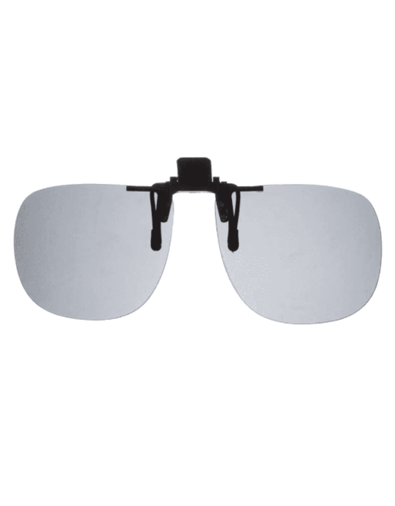 Fisherman Eyewear Aviator Grey Polarized Lens Clip n Flip Sunglasses