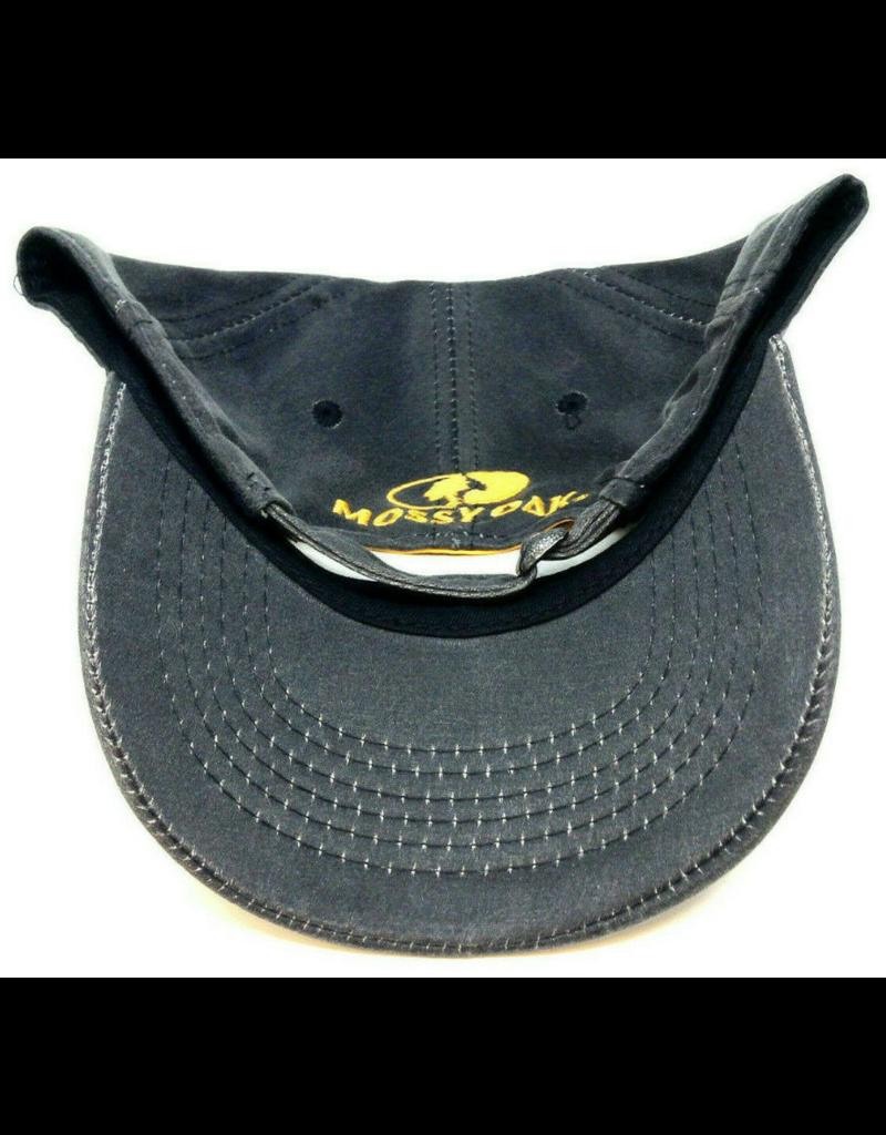 Outdoor Cap Company 6PNL STRUC REG PRE CURVE TUCK BLACK