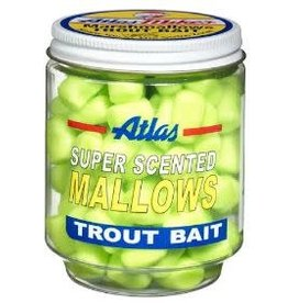 Atlas-Mikes ATLAS SUPER SCENTED MALLOWS CHARTREUSE/GARLIC