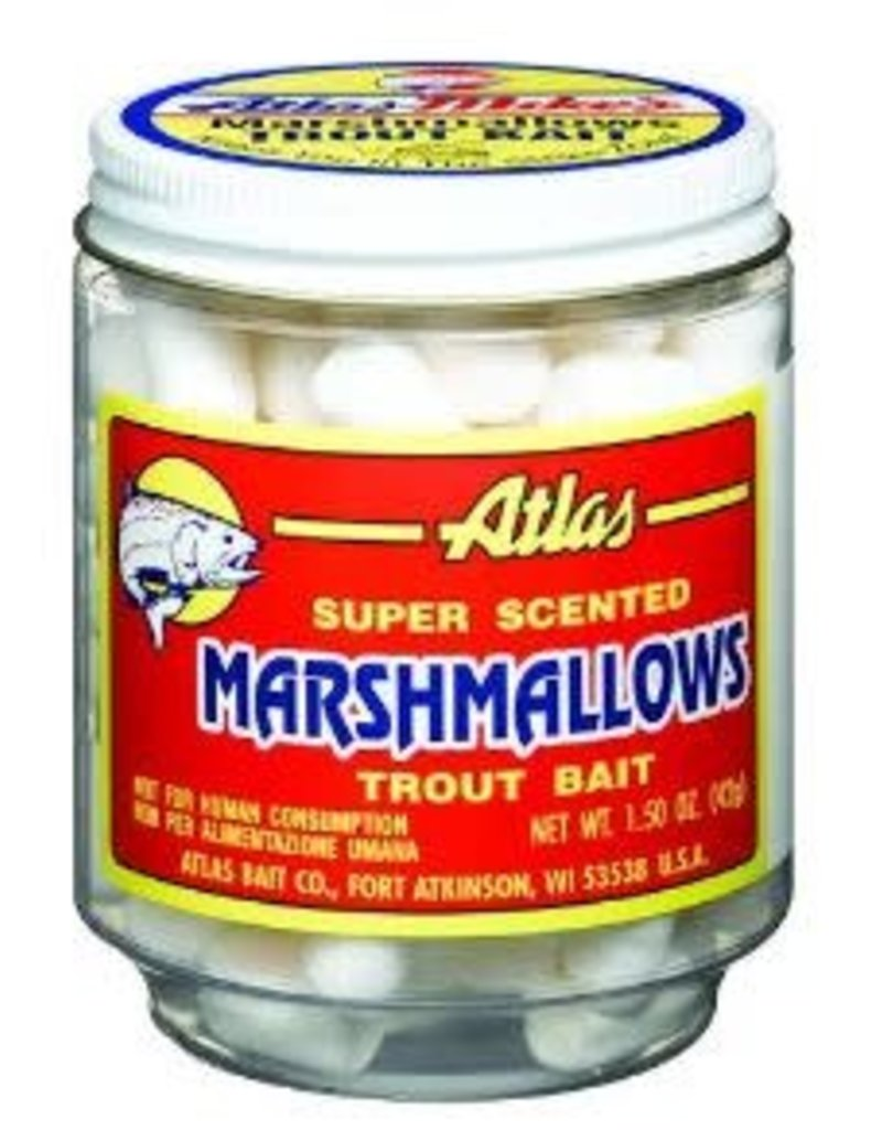 Atlas-Mikes Atlas-Mike's: Super Scented Mallows Trout Bait (White Anise)