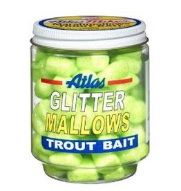 Atlas-Mikes ATLAS GLITTER MALLOWS CHARTREUSE/CHEESE