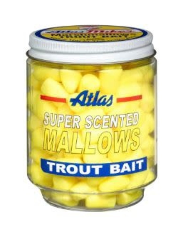 Atlas-Mikes ATLAS SUPER SCENTED MALLOWS YELLOW/CHEESE