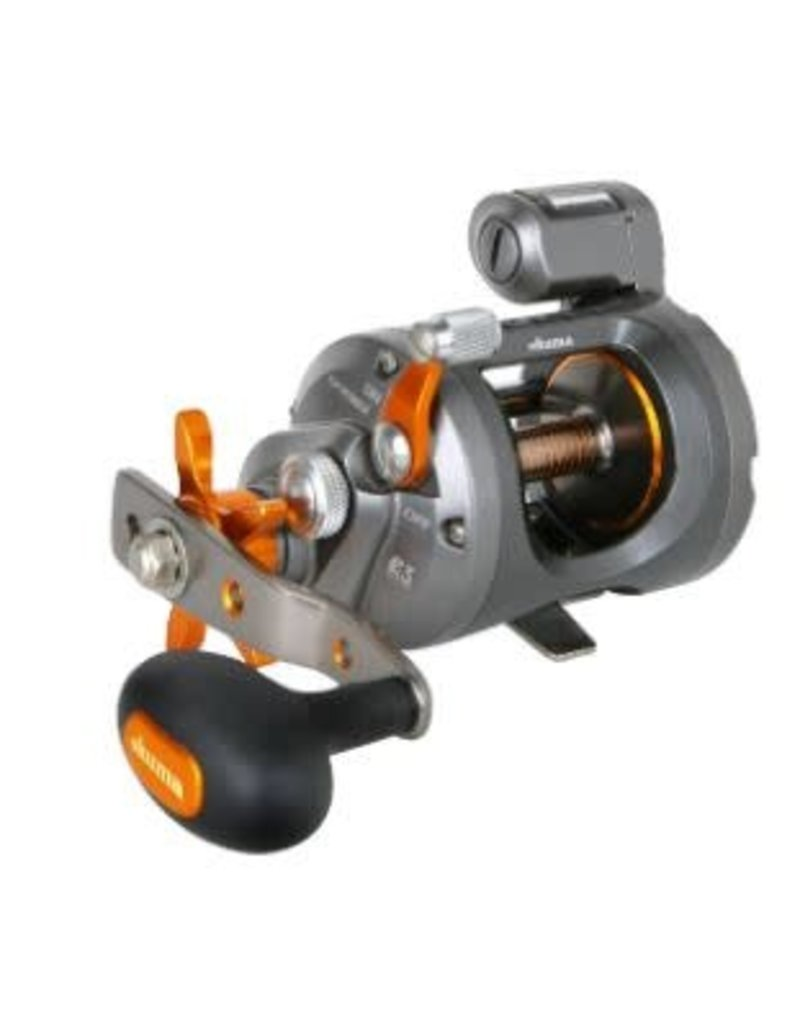 Okuma CW-203DLX Cold Water Linecounter Reels Box Reel (Left Hand)