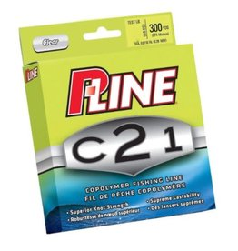 Pucci & Sons, Inc (P-Line) P-Line C21F-8lb C21 Copolymer Fishing Line 8lb 300yd Filler Clear