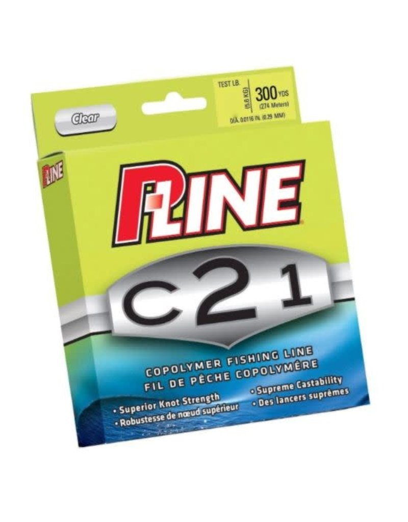 Pucci & Sons, Inc (P-Line) P-Line C21F-15 C21 Copolymer Fishing Line 15lb 300yd Filler Clear