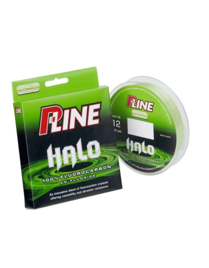 Pucci & Sons, Inc (P-Line) P-Line HF200-10 Halo Fluorocarbon Fishing Line 10lb 200yd Mist Green