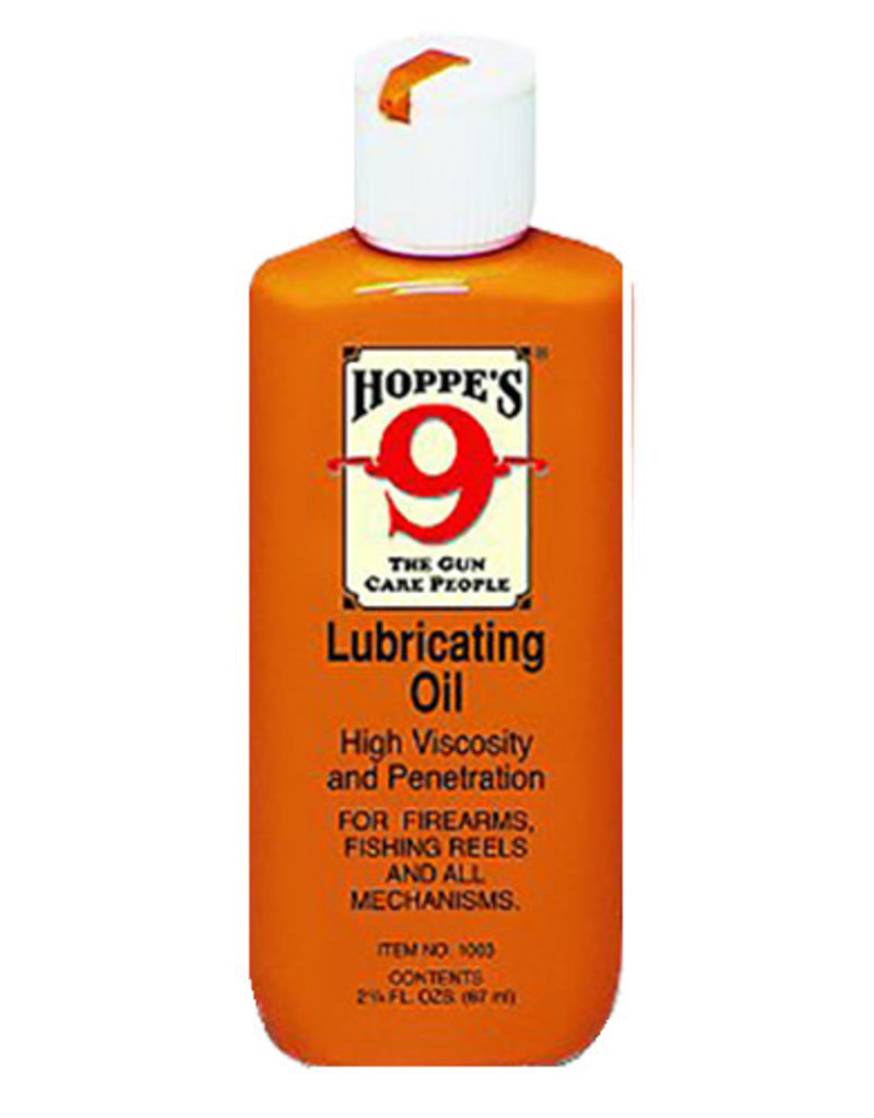 Hoppes Hoppes 1003 No. 9 Lubricating Oil 2-1/4oz Squeeze Bottle