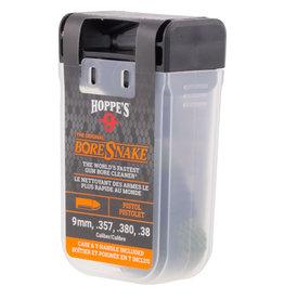 Hoppes Hoppes 24002D BoreSnake Den 9mm/38/357/380 Pistol Bronze Brush