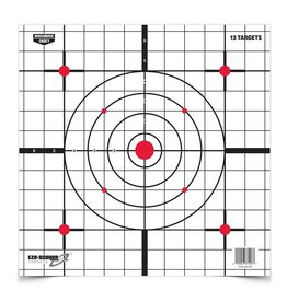 "Birchwood Casey 37213 Birchwood Casey Eze Scorer 12"" Sight In Paper Target 13 Pack"