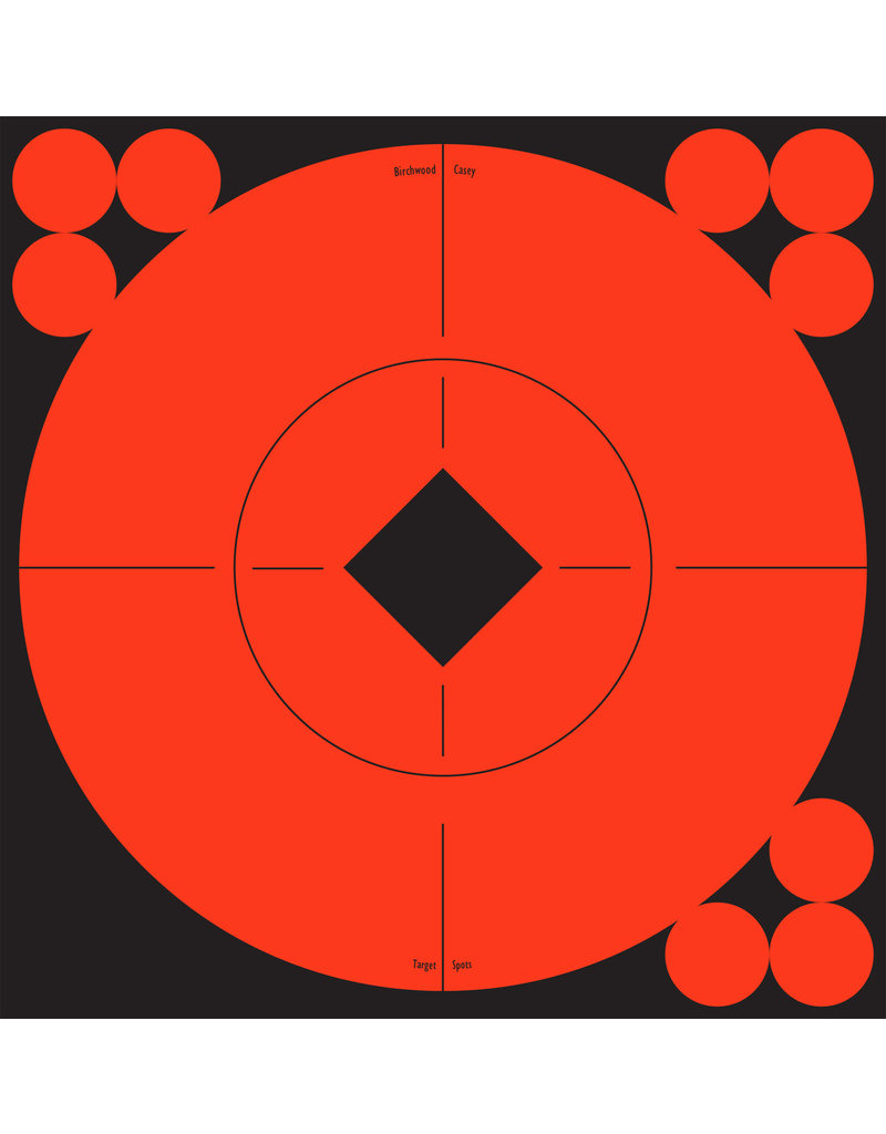 "Birchwood Casey 33906 Birchwood Casey Target Spots 6"" Target 10 Pack"