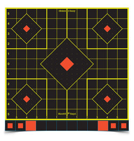 "Birchwood Casey 34207 Birchwood Casey Shoot N C 12"" Sight-In Target - 5 targets"
