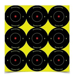 "Birchwood Casey Shoot•N•C® 2"" Bull's-eye Target - 108 targets"