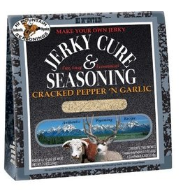 Hi Mountain Cracked Pepper 'N Garlic Blend Jerky Cure and Seasoning
