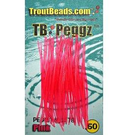 Troutbeads TROUTBEAD PEGGZ (50), PINK