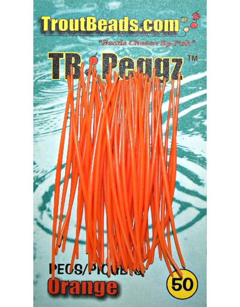 TROUTBEAD PEGGZ (50), ORANGE