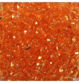 TROUTBEAD STD BEADS  8MM(40),ORANGE CL