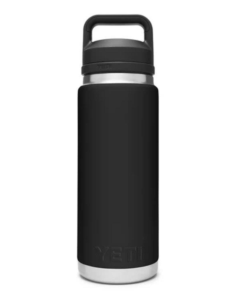 Yeti Rambler 26oz Bottle Chug Black