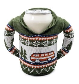 Puffin Coolers GREEN, CAMPING BEVERAGE SWEATER