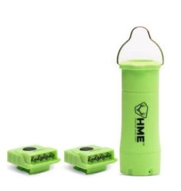 Dual Mode Flashlight / Lantern with 2 Mini Clip LED Lights - Apollo Green