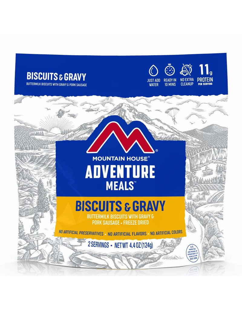 Mountain House Biscuits & Gravy CLEAN LABEL