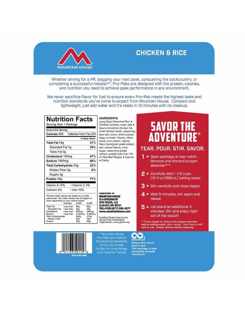 Mountain House Chicken & Rice Pro-Pak