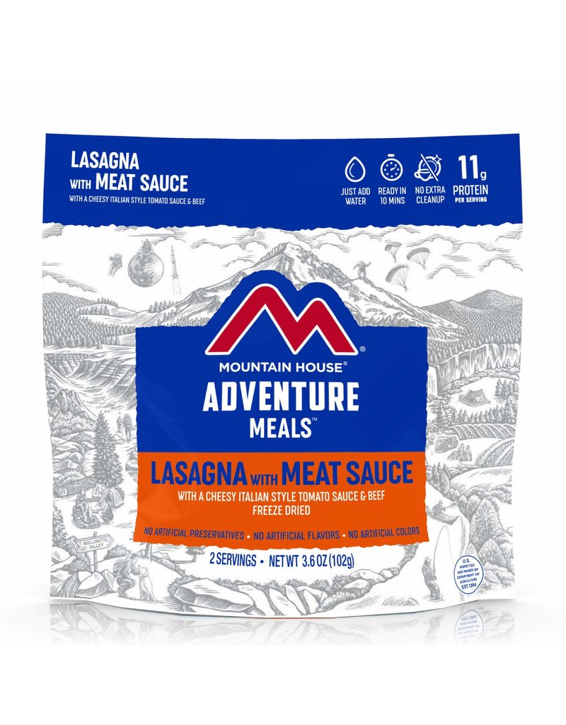 Mountain House Lasagna with Meat Sauce CLEAN LABEL