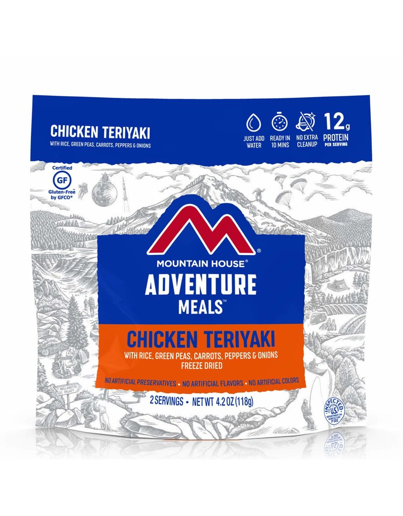 Mountain House Chicken Teriyaki with Rice CLEAN LABEL