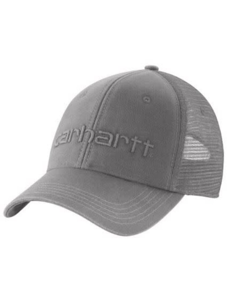 Carhartt Dunmore Cap, Asphalt, 101195-066OFAA M Cnvs Msh Bck Logo Grphc Cap 066