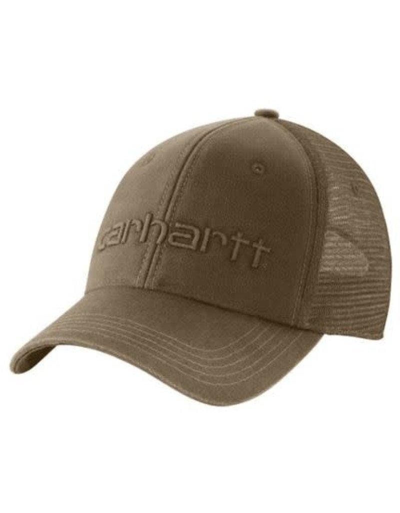 Carhartt Carhartt Dunmore Cap 101195-235OFAA M Cnvs Msh Bck Logo Grphc Cap 235-Light Brown