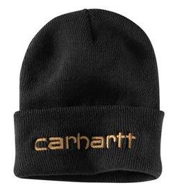 Carhartt 104068-001OFAA M Knt Ins Logo Grphc Cffd Beanie 001-Black