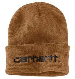 Carhartt 104068-211OFAA M Knt Ins Logo Grphc Cffd Beanie 211-Carhartt Brown