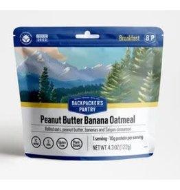 Backpackers Pantry Peanut Butter & Banana Oatmeal New 2021!