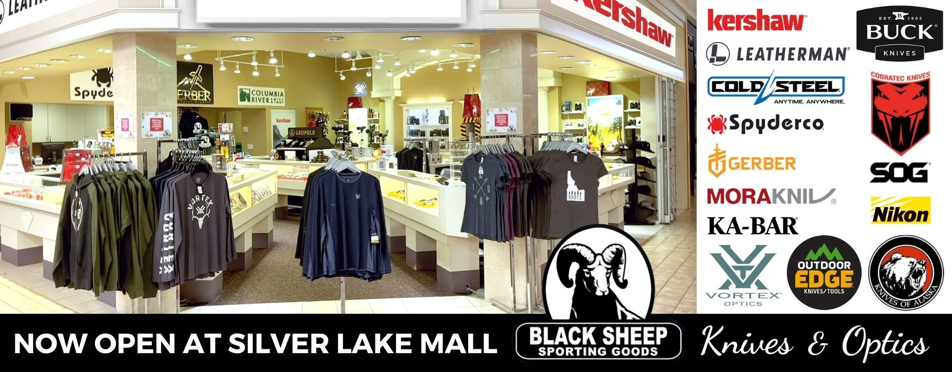 Black Sheep Knives & Optics at Silver Lake Mall