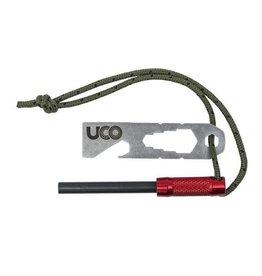 UCO Survival Fire Striker Red