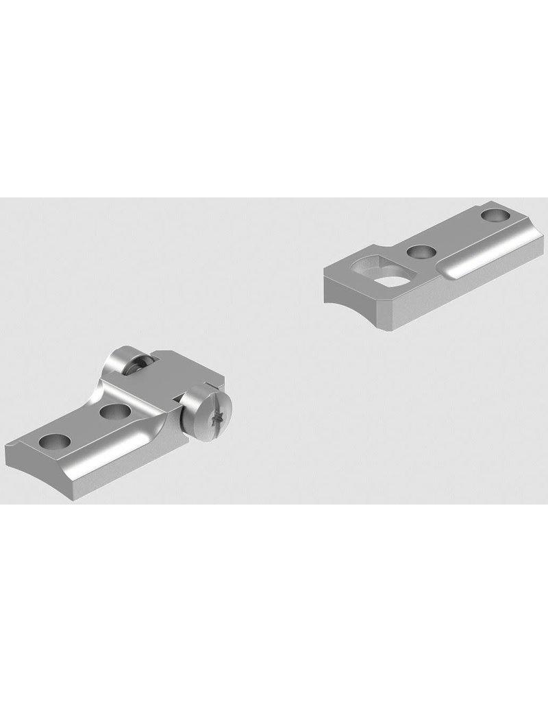 Leupold & Stevens, Inc. 51704 Leupold STD Weatherby Mark V RVF 2-pc Silver