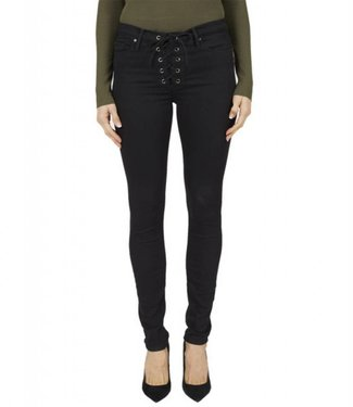 Black Orchid Heidi Lace Up Jean