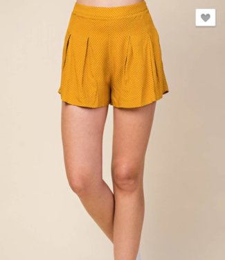 Honey Punch Flare Shorts