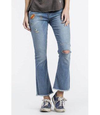 MM Vintage Iman Crop Flare Jeans