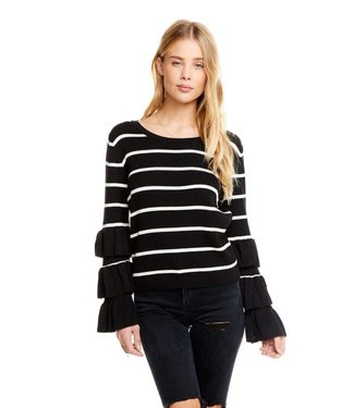 Chaser Rib Sweater Tiered