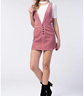 Honey Punch Overall Dress