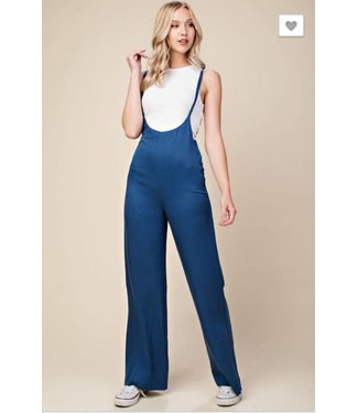 Honey Punch Flare Leg Jumpsuit